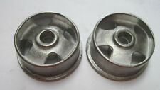 Pair of replacement 4-hole hubs for Smith Miller GMC truck