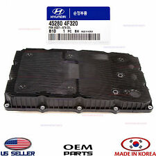 TRANSMISSION COVER OIL PAN GENUINE! GENESIS SEDAN GENESIS COUPE 12-16 452804F320