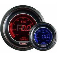 Prosport EVO 52mm AUTO BOOST MANOMETRO PSI Rosso Blu Schermo Digitale LCD