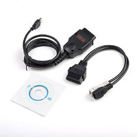 ODB2 Galletto EOBD 1260 ECU Tuning Diagnostic Programmer Remap Flasher VAG Cable