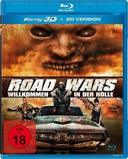 ROAD WARS  3D Blu ray ( Includes 2D ) ( NEW )