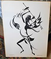 Robert Mancuso, modernist litho, 24 x 18, pencil signed