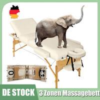 Mobile Massageliege Massagetisch Massagebank 3 Zonen klappbar + Tasche Neu DE