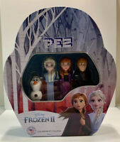 Frozen II 2 Pez Gift Tin Includes Elsa Anna Olaf and Kristoff Collectible NIP