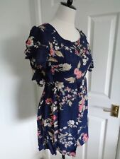 Therapy Navy Floral Dress size 10