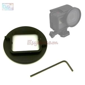 52mm Lens Filter Adapter for GoPro Hero5 Black to Add UV Red Close-up Filters