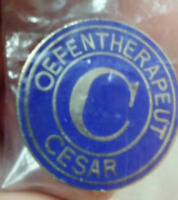 Oefentherapeut Cesar pin badge