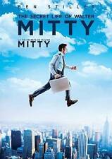 The Secret Life of Walter Mitty (DVD, 2014, Canadian) DISC IS MINT