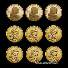 2018 2019 2020 P+D+S Native American Sacagawea Mint Proof Set PD from Roll
