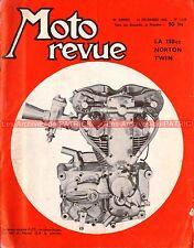 MOTO REVUE 1419 NORTON 250 Jubilée MORINI Champions de France 1958