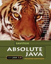 Absolute Java 5.0 w/Student Resource Disk, 2nd Ed, Savitch,Ships Anywhere Today!