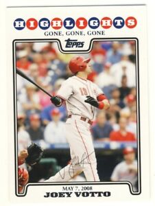 """2008 Topps Baseball Update Rookie card of """"Joey Votto"""" Twins # UH185"""