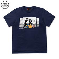 Chunk Navy Drunk Bear T-Shirt RRP £29.95