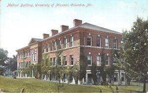 Postcard Medical Building University of Missouri Columbia MO  F-13