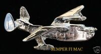 PBM-5 MARINER MARTIN SEAPLANE HAT PIN P5M USS FLYING BOAT US NAVY COAST GUARD