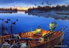 Darrell Bush Early Morning Traditions Duck Hunting SN Print
