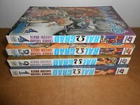 Ral Grad vol. 1-4 Manga Graphic Novel Book Complete Lot in English