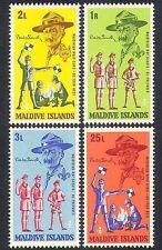 Maldivian Scouting Postal Stamps