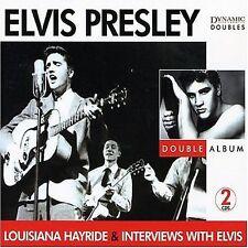 Presley, Elvis, Louisiana Hayride / Interviews With Elvis, Excellent Import