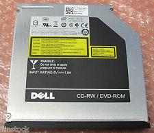 Dell MU10N 9.5mm Combo 8x DVD-ROM 24x24x24 CD-RW SATA Drive 5V-1.8A
