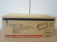 ORIGINALE XEROX TEKTRONIX PHASER 1235 Magenta con fattura NUOVO & OVP