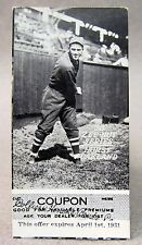1930 Zeenut with coupon HURST Oakland PCL baseball card