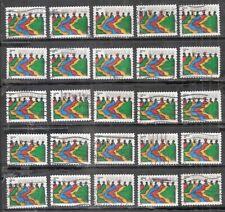 25 KWANZAA CELEBRATION  #3881 Used U.S. 2004 Commemorative 37c Stamps