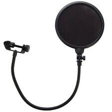 "HQRP 7.5"" Studio Microphone Mic Wind Screen Pop Filter Mask Gooseneck Shied"