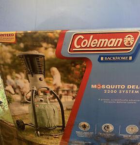 New Coleman MOSQUITO DELETO 2200 System Model #2910-100 - New Open Box