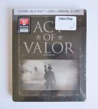 ACT OF VALOR BLU RAY + DVD + DIGITAL - STEELBOOK - FUTURESHOP - NEW / SEALED