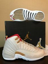 DS AIR JORDAN 12 RETRO CNY GS Sz-8Y W/Receipt 881428 142 Ovo Wings Psny Flu Game