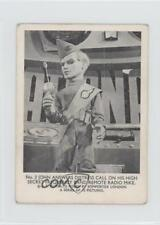 1966 Somportex Thunderbirds Small #2 John Answers Distress Call Card 0s4