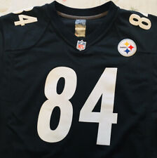 Nike On Field XL NFL Pittsburgh Steelers 84 Antonio Brown  Jersey 18-20 RN#67891