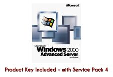 Windows 2000 Advanced Server Win 2000 Server + License Product Key