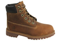 Timberland 6 Inch Junior Lace Up Brown Leather Boots 80904 T4