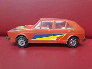 Polish Plastic Remake of Burago VW GOLF 1600 GLD 1980's used Poland PRL 1:24