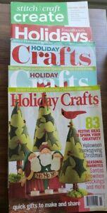 Holiday Craft magazine Lot Of 5