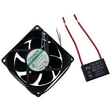 SUNON Lüfter MA2082-HVL 230V 80x25mm V 67,9m³/h 32dBA 3200U/min Filter 855303