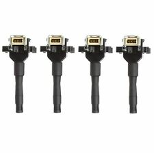 Set of 4 Delphi Direct Ignition Coils for BMW E30 318i 91-92 318is 91-93 1.8L L4