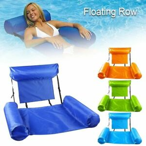 Inflatable Floating Water Mattresses For Pool Chairs Relaxing Lounge Accessories