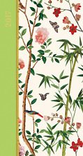 Caspari - Slim Diary 2017 - Chinese Wallpaper - Perfect Purse-Size Planner!