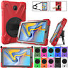 """For Samsung Galaxy Tab A 8.0"""" T387 2018 Rugged Defender Armor Case Stand Cover"""