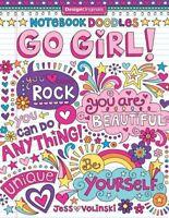 Notebook Doodles Go Girl!, Paperback by Volinski, Jess, ISBN 1497200156, ISBN...