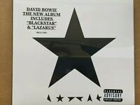 Blackstar [Audio CD] David Bowie New & Sealed