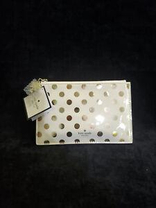 Sale! Kata Spade Gold Dot Pencil Pouch, Originally $30.00