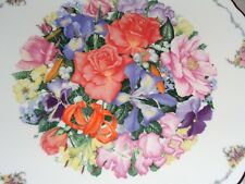 Royal Albert Limited Edition Collectors Plate FINALE Bouquet Flowers Boxed
