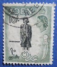 1954 ADEN 10S SCOTT# 60 S.G.# 70 USED                                  CS04223