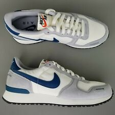 save off 9f85c 257a9 Nike Air Vortex Suede Running Athletic Shoes Size 9 Mens White Blue Gray  SAMPLE