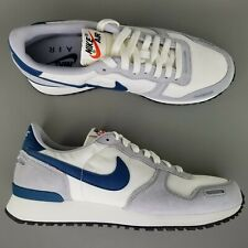 save off 7e2ae 89ecf Nike Air Vortex Suede Running Athletic Shoes Size 9 Mens White Blue Gray  SAMPLE
