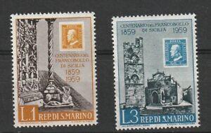 Stamp on Stamp, Francobollo Di Sicilia 1959,
